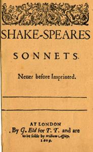 Sonnets-Titelblatt_1609
