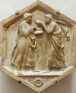 Plato_Aristotle_della_Robbia_OPA_Florence