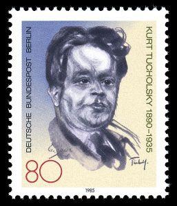 Kurt Tucholsky - Stamps_of_Germany_(Berlin)_1985,_MiNr_748
