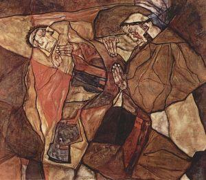 Egon_Schiele - Agony