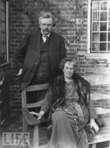 Chesterton_with_Wife_Frances