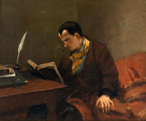 Baudelaire - Gustave_Courbet_033