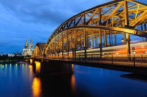 Hohenzollernbrücke - Köln