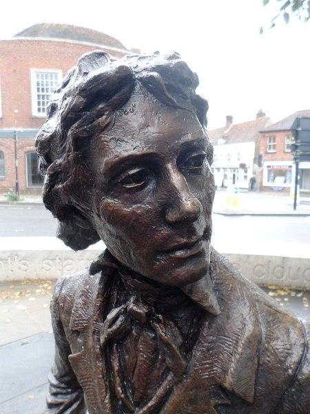 John_Keats,_by_sculptor_Vincent_Gray
