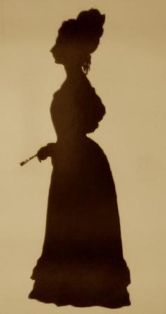 Fanny Brawne silouette